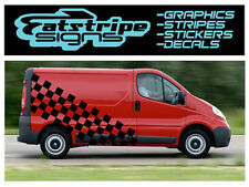 Motocross Checker Racing van gráficos pegatinas Vivaro de tráfico de tránsito St Mx Ktm