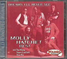 Molly Hatchet Dreams I`ll Never See (Best) Zounds CD RAR OOP