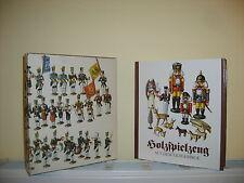 Holzspielzeug aus dem Erzgebirge + originaler Pappschuber/traumhaft bebildert!!!