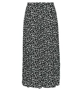 Womens Print Skirt, Soft Viscose Fabric, Half Elastic Length 35inch Long Maxi