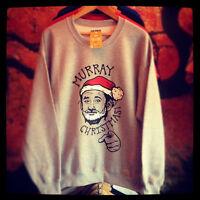 Bill Murray 'Murray Christmas' Fan Art, Christmas Sweater Christmas Jumper BFM