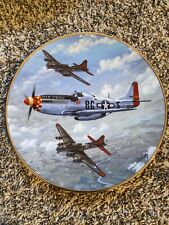 Hamilton Collection Old Crow Fighter Planes Of World War Ii Plate Raymond Waddey