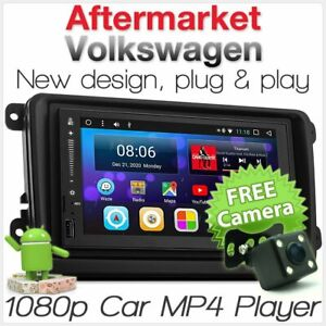 Android Car MP3 Player For Volkswagen Amarok Caddy Transporter Golf Radio Stereo