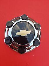1 NEW Chevy Silverado 1500 Tahoe Avalanche,6 Lugs Hub Center Cap 7-1/4inch Black