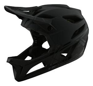 Troy Lee Designs Stage Bicycle BMX/MTB Helmet w/MIPS Stealth - Midnight