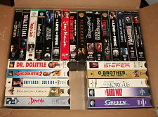 FREE SHIP 26Pc Lot #2 Various VHS Movies Goodfellas, Terminator's, The Others ++