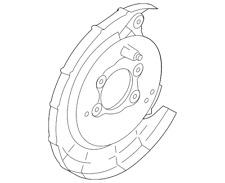 Genuine Kia Backing Plate 58252-1M300