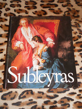 Catalogue expo Musée du Luxembourg: Subleyras 1699-1749 - RMN, 1987
