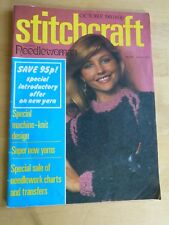 STITCHCRAFT OCTOBER 1980 - Vintage Knitting & Embroidery Magazine