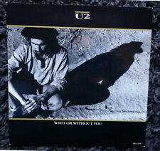 U2 ‎– With Or Without You  (Vinyl Single, Misprint !)