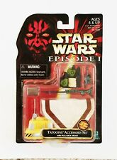 Star Wars Episode 1 TATOOINE Accessory Set Poncho with Pullback Droid
