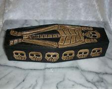 Kleiner Voodoo Holzsarg, 29 cm (ohne Voodoo-Puppe) Ritualzubehör