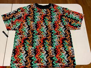Air Jordan Men's TopJordan CW0911-010 Sz S HARE Black Green Red Orange T-shirt