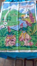 NWOT Tale of Little Folks Leprechauns Tea Towel 100% Linen Fingal Ireland