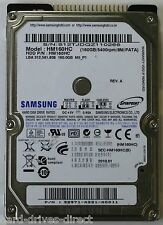 "Samsung HM160HC 2.5"" 160GB IDE ATA PATA Laptop Hard Disk Drive Disc 160 GB HDD"