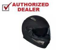 Kali Tantra Full Face Helmet Matte Black Size 2XL XXLarge Harley Import Riders