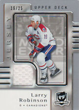 06-07 The Cup JERSEY Parallel xx/25 Made! Larry ROBINSON #47 - Canadiens