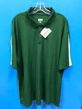 New Augusta Sportswear Adult Men's Collared Shirt Color Green Size Xl Xlarge