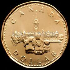 (1867-) 1992 CANADA 1 DOLLAR 125TH ANNIVERSARY OF CONFEDERATION UNC 1$