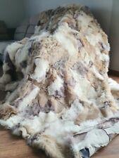 Venta Alfombra de piel verdadera manta, alfombra de lana de oveja Zalea tiro 200x200cm
