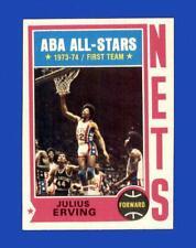 1974-75 Topps Set Break #200 Julius Erving EX-EXMINT *GMCARDS*