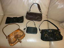 Lot 5 Designer LEATHER Bags and Wallets CHOACH ISABELLA FIORE BCBG ELLIOT LUCCA