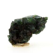 Celadonite après Apophyllite. 103.8 ct. Shakur Quarry, Maharashtra, Inde. Rare