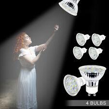 [4 PACK] GU10 LED Light Bulb 120V 4W Daylight 5000K Energy Saving