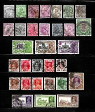 HICK GIRL- OLD USED INDIA  STAMPS  KING GEORGE V & VI.           X5080