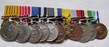 Nepal Königreich Orden Ordensspange con 11 Medalla Decoraciones
