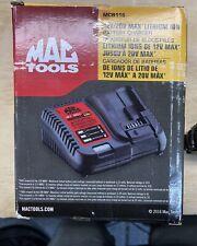 Mac Tools MCB115 12V/20V Max Lithium Ion Battery Charger Brand New