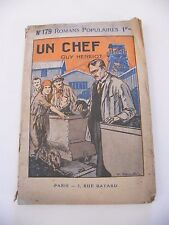 Un chef Guy Henriot N°179 Collection Bayard