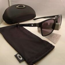 OAKLEY CATALYST BLACK INK WITH WARM GREY LENSES SUNGLASSES 9272-08 CASE NEW