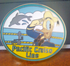 Disney Pin 70602 DSF Travel Donald Pacific Cruise Line Salutes Dolphin LE 300 *
