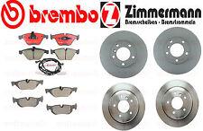 BMW 328i XDrive 328xi X1 Brake Kit Rotors & Pads  Zimmermann Brembo