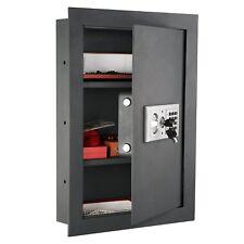 Home Security Wall Safe Electronic Lock Gun Jewelry Handgun Fireproof Box Safes