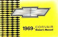 Bishko OEM Maintenance Owner's Manual Bound for Chevrolet Corvair 1969