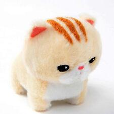 Chinmari Munchkin 6'' Tan Striped Kitten Plush Amuse Prize Anime Manga NEW