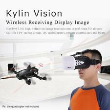 KDS Kylin Vision 64CH 5.8G 3D FPV RC Quadcopter Goggles 5 Inch VR Headset Z6D7