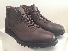 ALEXANDER MCQUEEN McQ LACE-UP MONKEY MID SHARK BOOT SIZE 12 EU 45 MADE IN ITALY