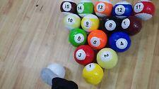 Footpool Set Size No.2 Soccer Ball Foot pool number football kick snooker child
