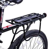 Upgraded Bicycle Mountain Bike Rear Rack Seat Post Mount Luggage Carrier Aluminu