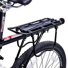 Cycle Rear Luggage Pannier Rack with Sprung Top Clip