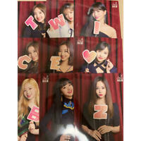 TWICE JPN ARENA TOUR 2018 BDZ FC ONCE Limited Official Live Photocard All 9 set