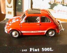 FIAT 500L OLIEX 1/43 ROUGE ROSSO ITALIA NEW CARARAMA ROT RED CARARAMA