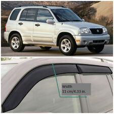 SE50198 Window Visors Vent Wide Deflectors For Suzuki Grand Vitara 1998-2005