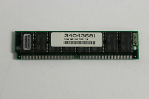 ALR 34043681 4MB 72 PIN  X36 70NS TIN SIMM MEMORY MODULE SAMSUNG KMM5364100