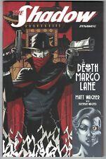 THE SHADOW: THE DEATH OF MARGO LANE TPB (Dynamite - 2017) w/a Matt Wagner! NM
