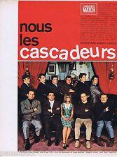 COUPURE DE PRESSE CLIPPING 1967 Nous les Cascadeurs (14 pages)