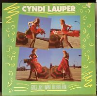 "Cyndi Lauper – Girls Just Want To Have Fun - 1984 12"" single excellent, cover VG"